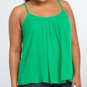 torrid Tops - Torrid georgette crisscross top in green size 2